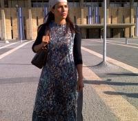 brave-miss-world-linor-outside-the-israeli-parliament-jerusalem